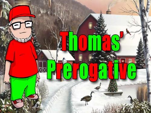 Thomas Prerogative xmas